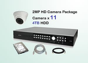 11x AVTECH HD Camera CCTV Installation Package