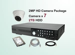 7x AVTECH HD Camera CCTV Installation Package