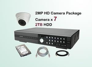 7x AVTECH HD Camera CCTV Installation Package