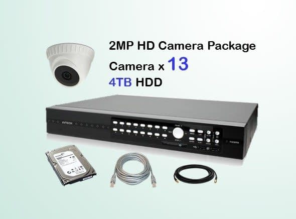 13x AVTECH HD Camera CCTV Installation Package