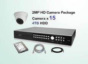 15x AVTECH HD Camera CCTV Installation Package
