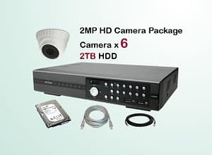 6x AVTECH HD Camera CCTV Installation Package