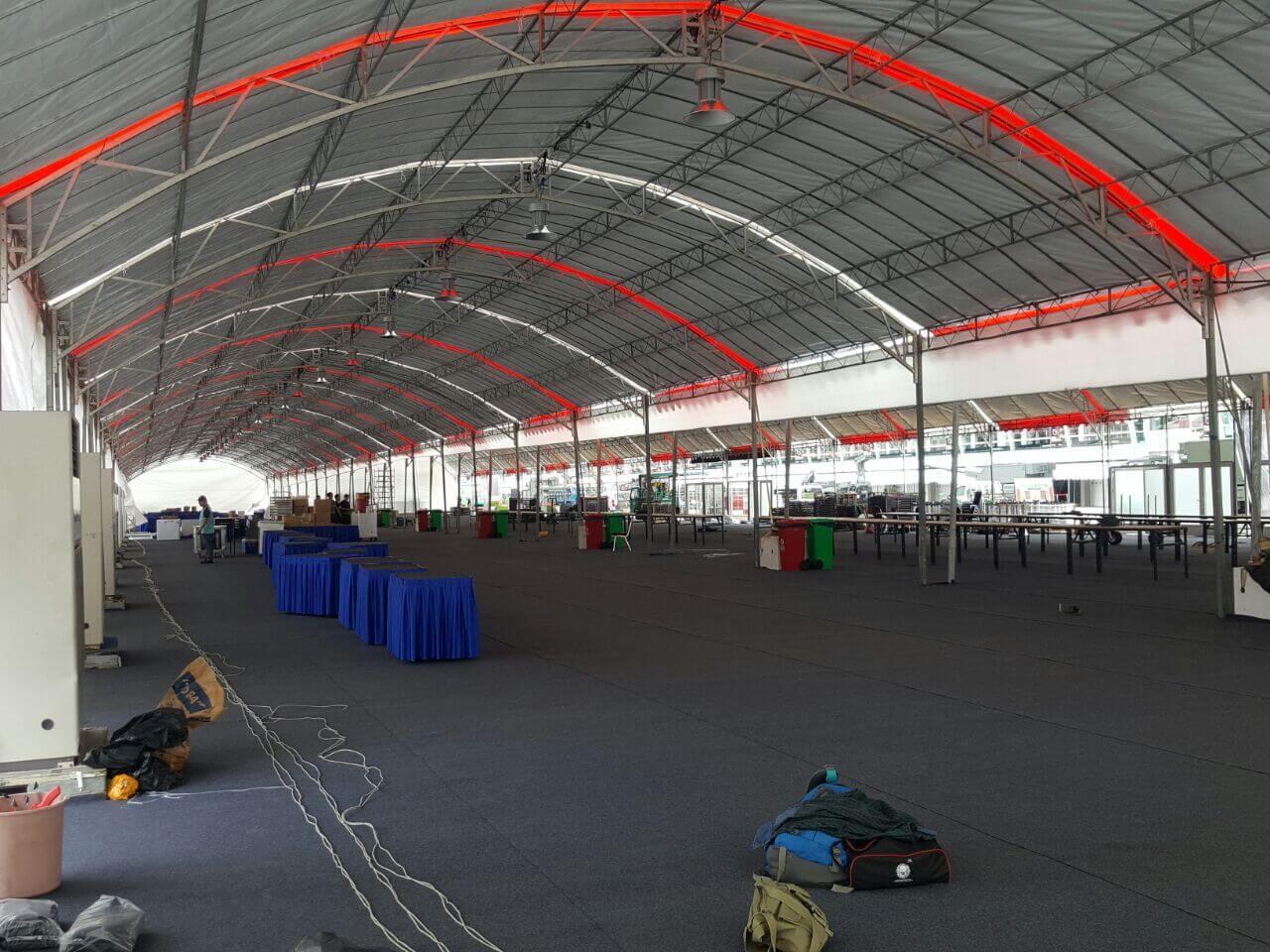CCTV Rental Service for F1 Pit Event 2