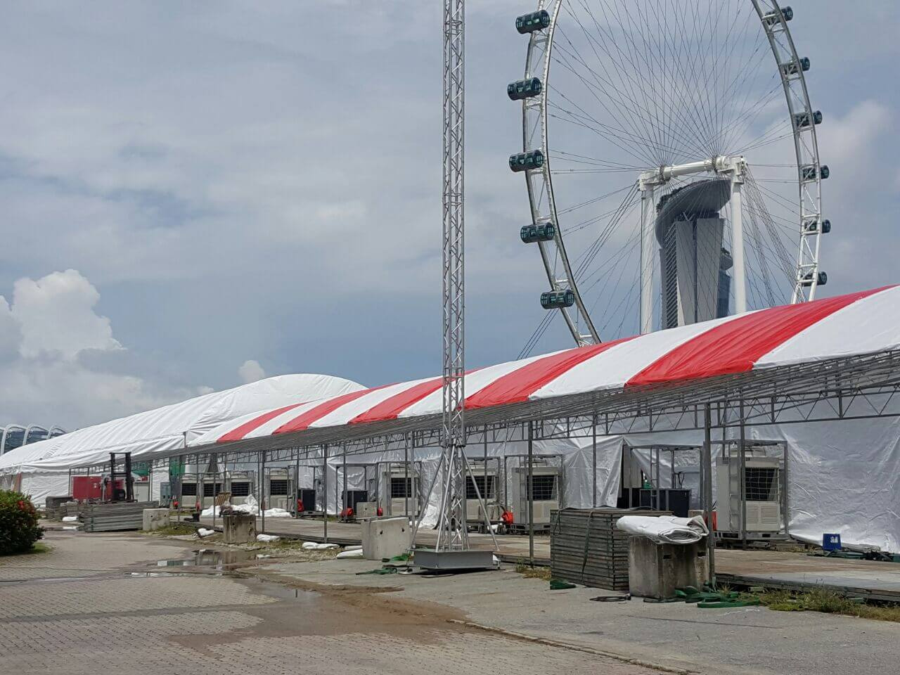 CCTV Rental Service for F1 Pit Event 3
