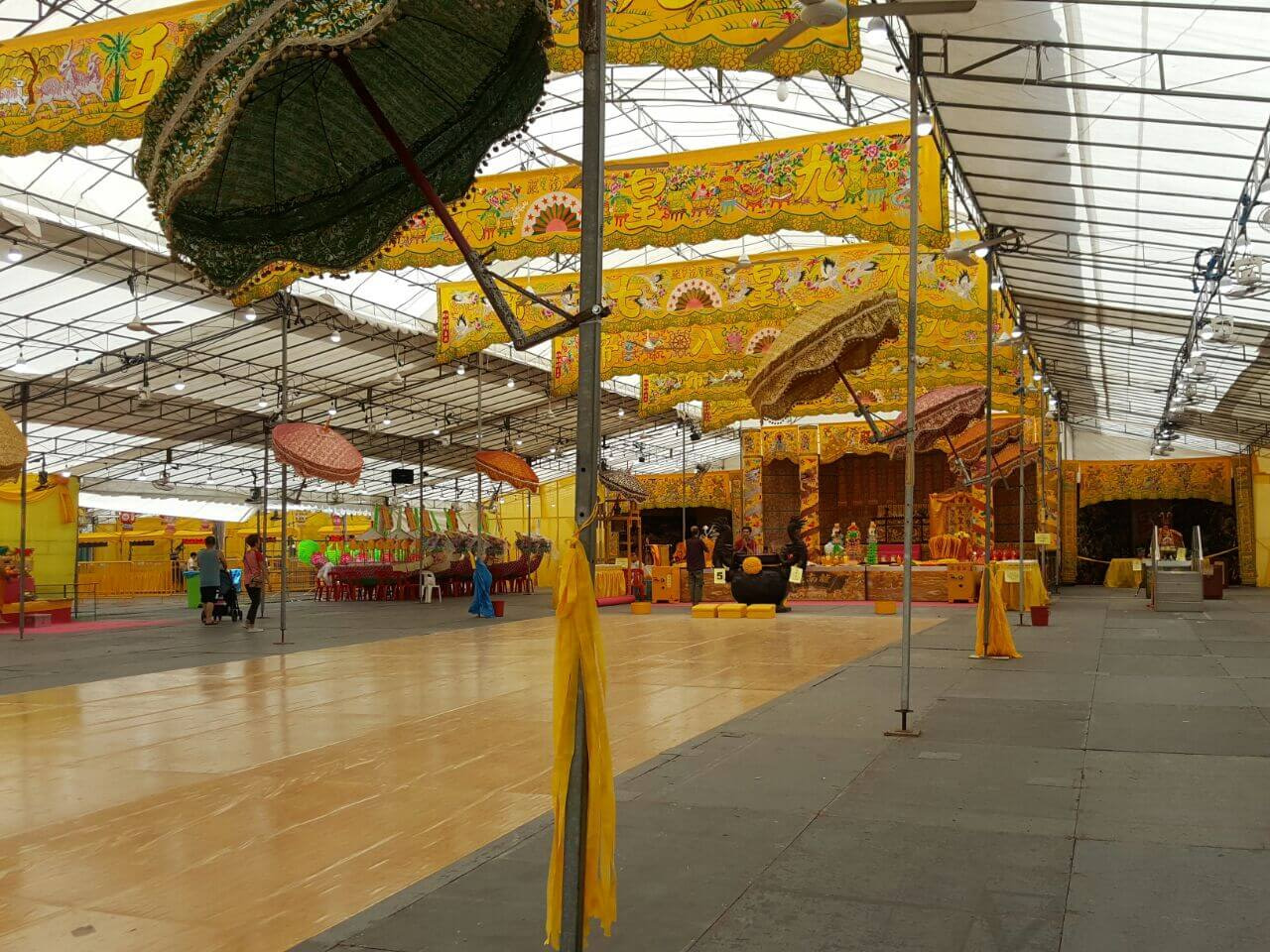 CCTV Rental Service for Leong Nam Temple Event 3