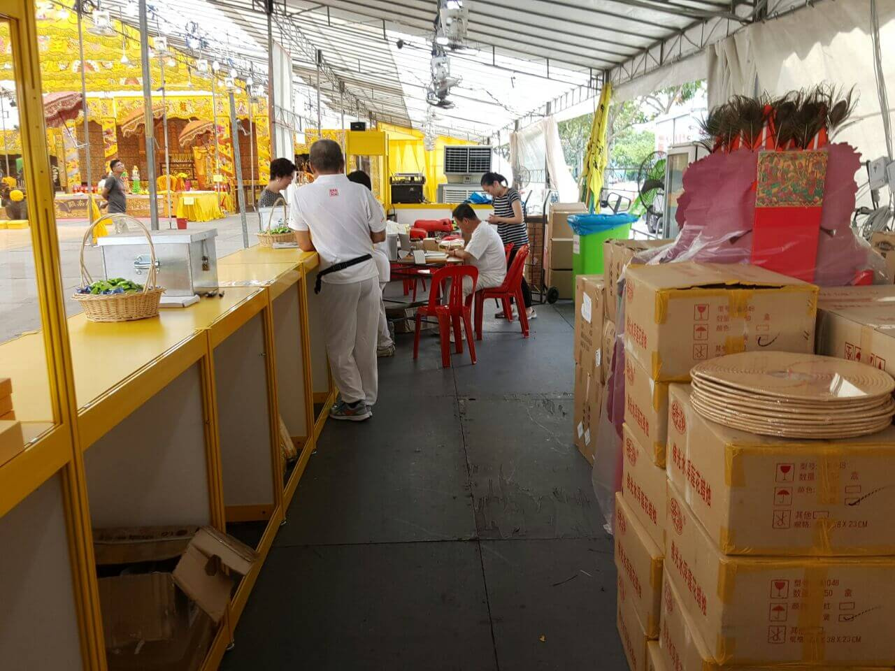 CCTV Rental Service for Leong Nam Temple Event