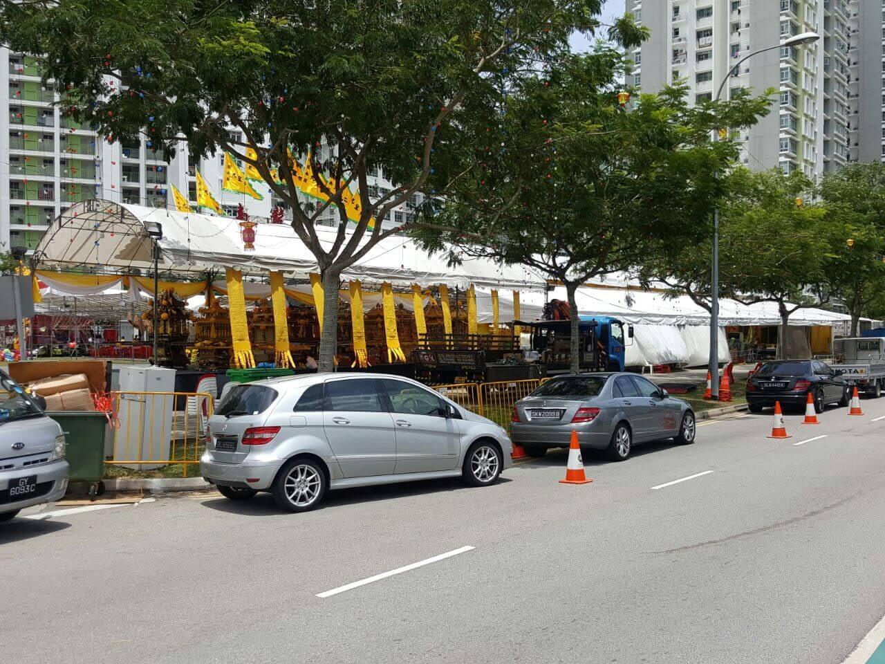 CCTV Rental Service for Leong Nam Temple Event 2