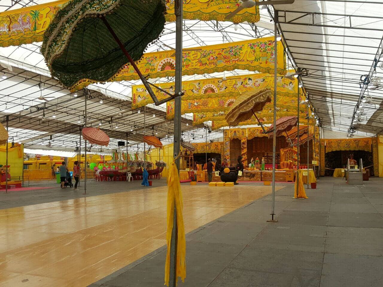 CCTV Rental Service for Leong Nam Temple Event 3