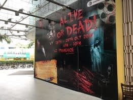 CCTV rental at tampines mall for halloween event 2017