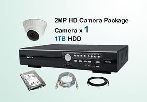 1x AVTECH HD Camera CCTV Installation Package