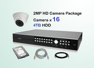 16x AVTECH HD Camera CCTV Installation Package