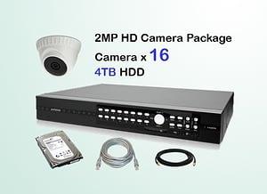 16x AVTECH HD Camera CCTV Installation Package