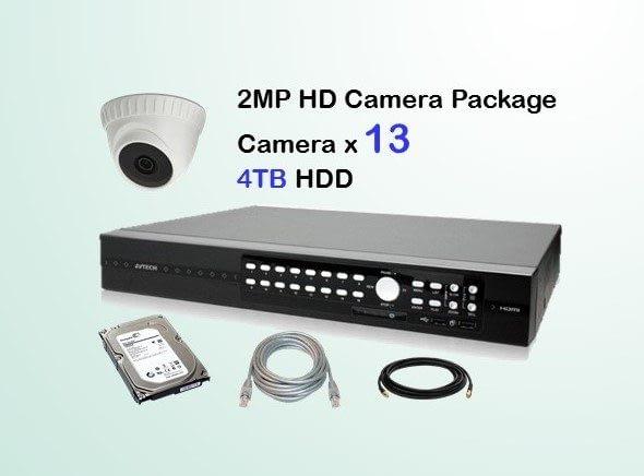 13x AVTECH HD Camera CCTV Installation Package