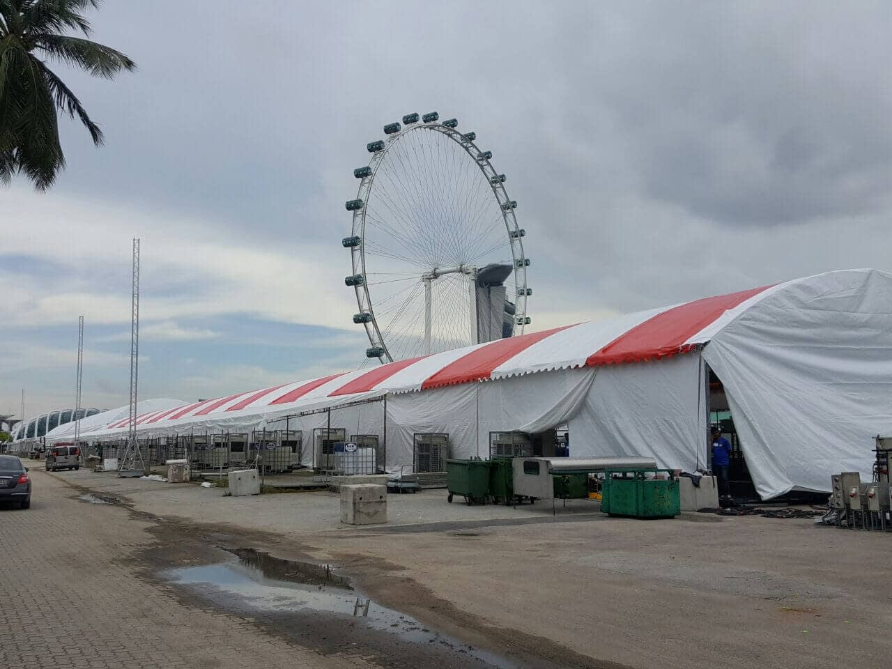 CCTV Rental Service for F1 Pit Event