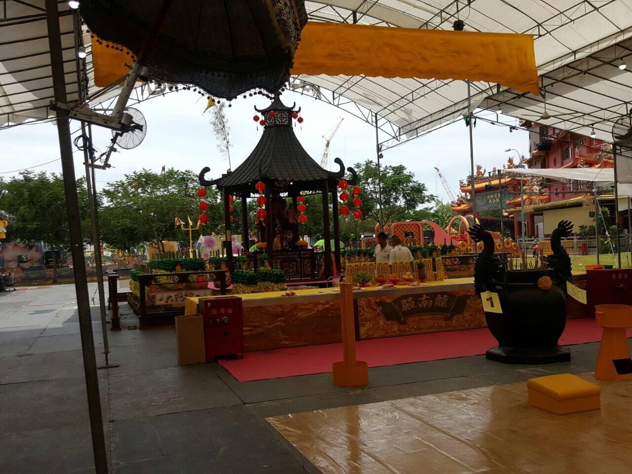 CCTV Rental Service for Leong Nam Temple Event 1