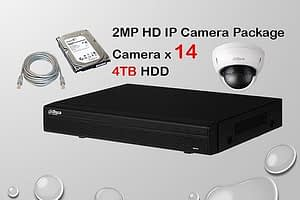 14x DAHUA HD IP Camera CCTV Installation Package