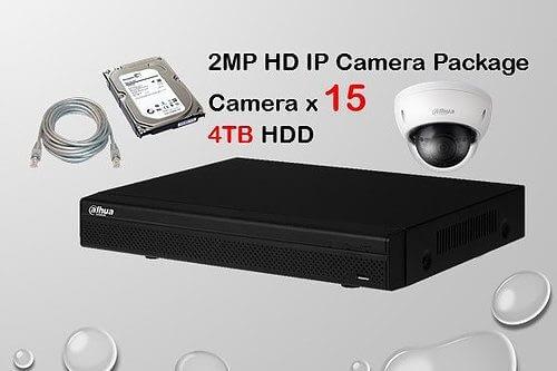 15x DAHUA HD IP Camera CCTV Installation Package