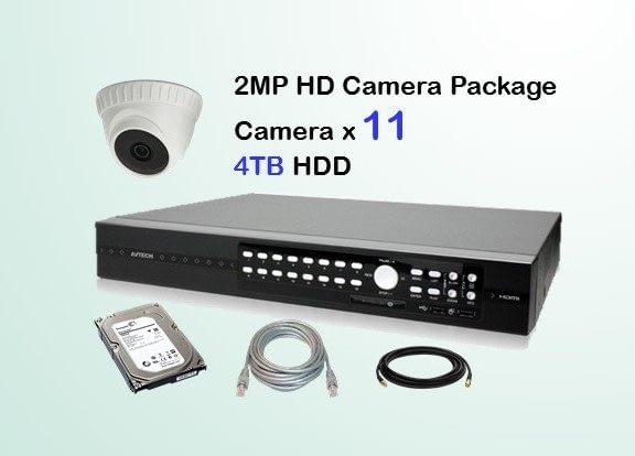 11x AVTECH HD Camera CCTV Installation Package